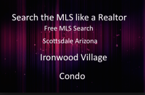 Ironwood Village Condominium Scottsdale Arizona