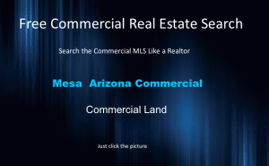 commercial land mesa arizona