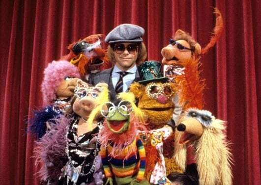 On The Muppet Show in 1977
