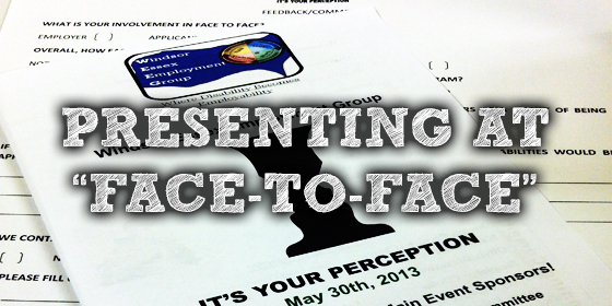 Presenting at Face-To-Face