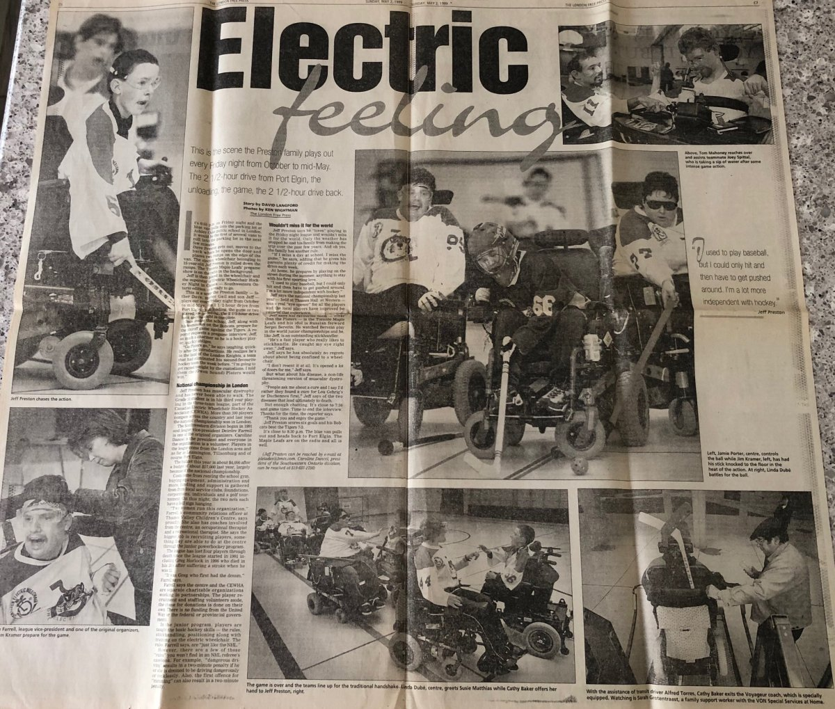 Image of LFP article from 20 years ago
