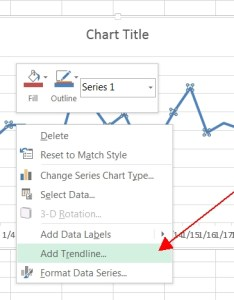Add trendline also adding  month in excel jeff prom   sql server blog rh jeffprom