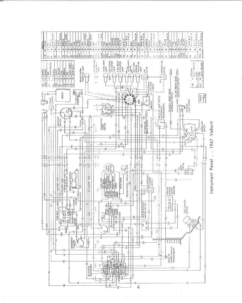 67 nova dash wiring diagram