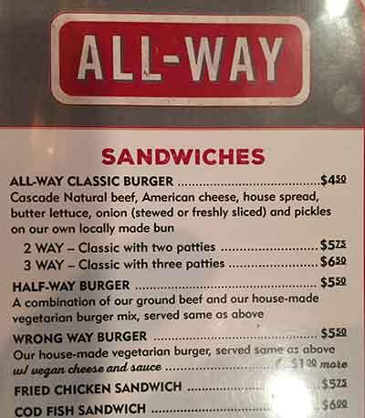 Portland Half-Way Burger