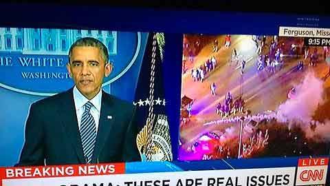 President Obama Calls for Calm After Darren Wilson Grand Jury Decision