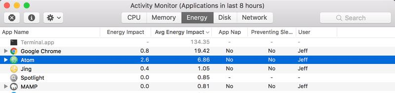 Macbook battery drain sierra