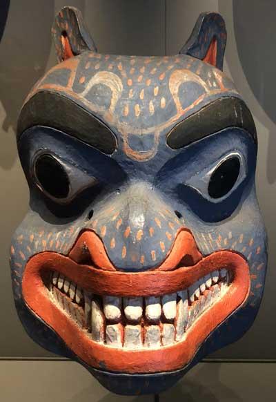Bear Mask Tsimshian