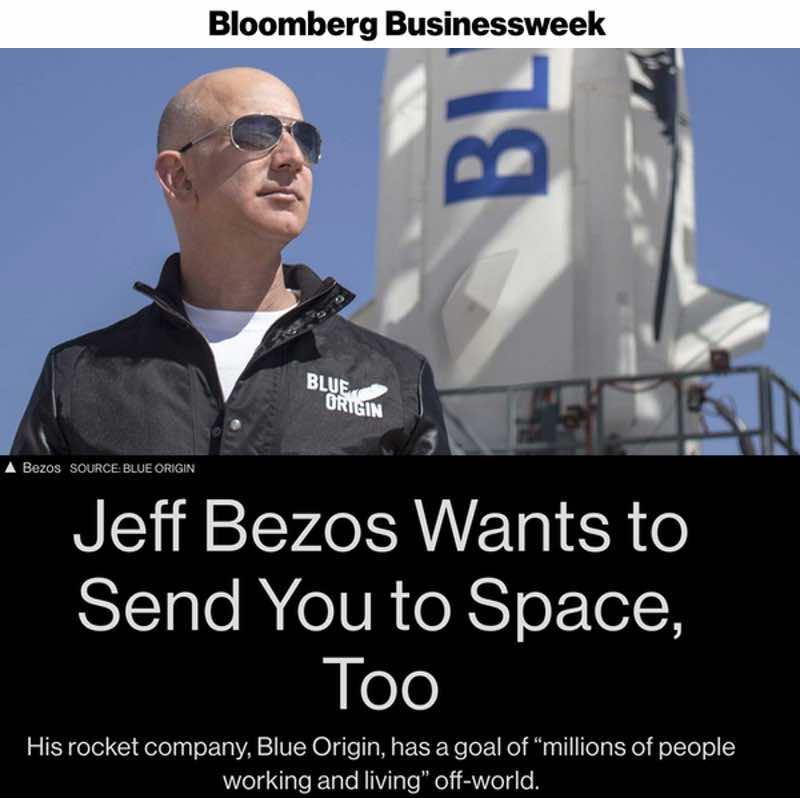 bezos send you to space
