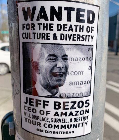 Jeff Bezos Diversity #bezosshithead