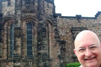 At Edinburgh Castle.