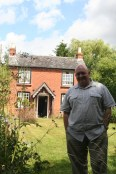 At the Elgar Birthplace Museum outside of Worcester.