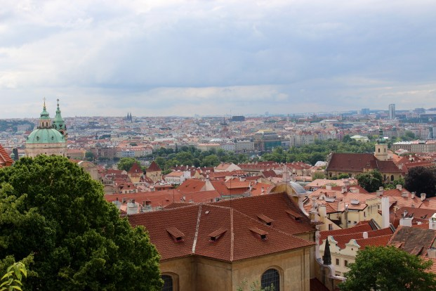Prague, from the Castle.
