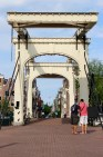 A drawbridge over the Amstel.