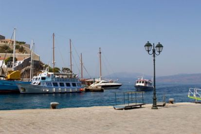 Leaving Hydra.