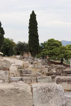 Detail, Temple of Dionysius.