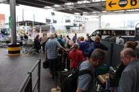 Leaving Heathrow.