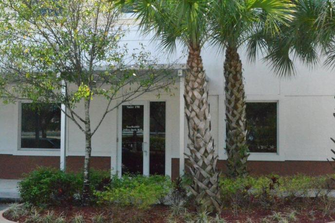 Office Front View Jeffrey Dach MD 7450 Griffin Road Suite 190 Davie Florida