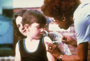 Measles MMR Vaccination Arm