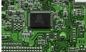 Computer Chip Circuit Board