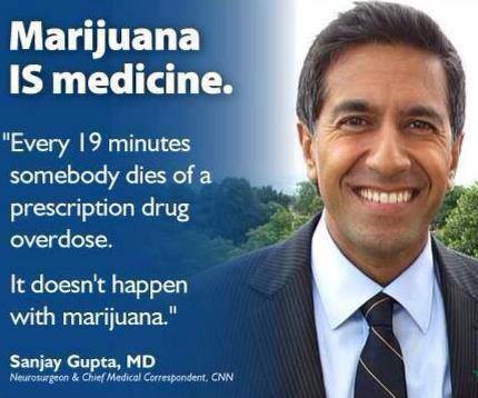 Sanjay Gupta Marijuana is Medicine