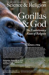 SCience and Religion Gorrillas and God