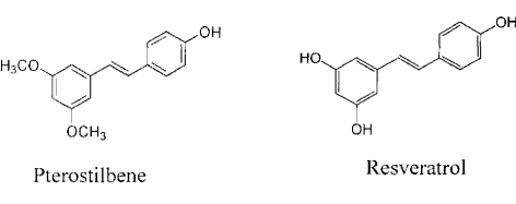 Resveratrol and Pterostilbene