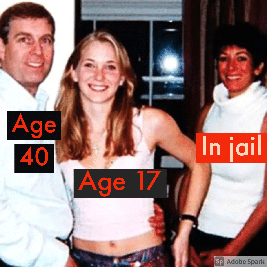 The photo that shocked the world: Prince Andrew