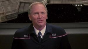 Admiral Forrest wears his dress uniform