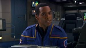 Travis Mayweather in Starfleet uniform, 2161.
