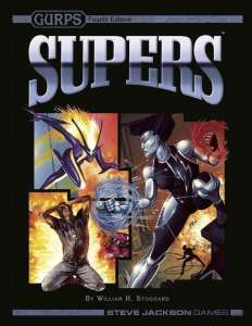 GURPS Supers cover
