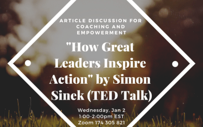 Article Discussion – How Great Leaders Inspire Action