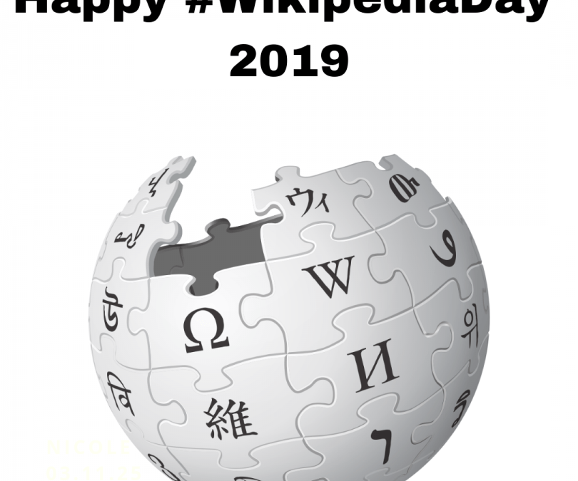 Come Celebrate Wikipedia Day!