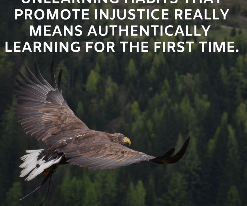Unlearning Habits that Promote Injustice