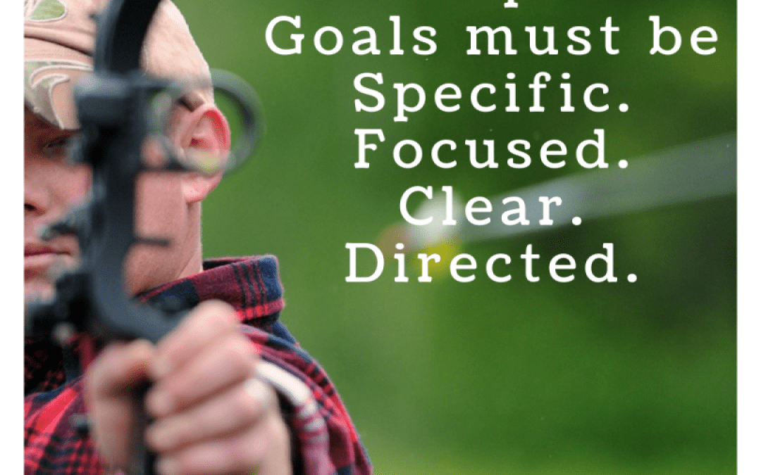 Professional Development Goals must be Specific