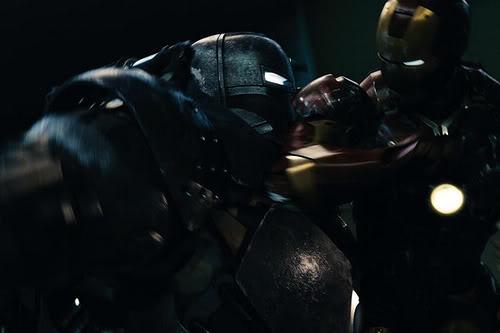 Iron Man movie 2008 Iron Man vs Iron Monger
