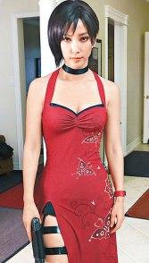 Bingbing Li as Ada Wong in Resident Evil