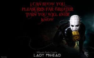 Silhouette Realm as Lady Pinhead