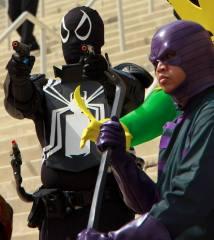 Cosplay Confidential Ben Esguerra as Wrecker with Agent Venom