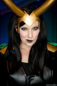 Katieasaur Cosplay as Loki
