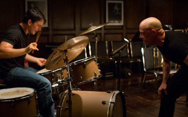 Whiplash movie - Miles Teller and J.K. Simmons