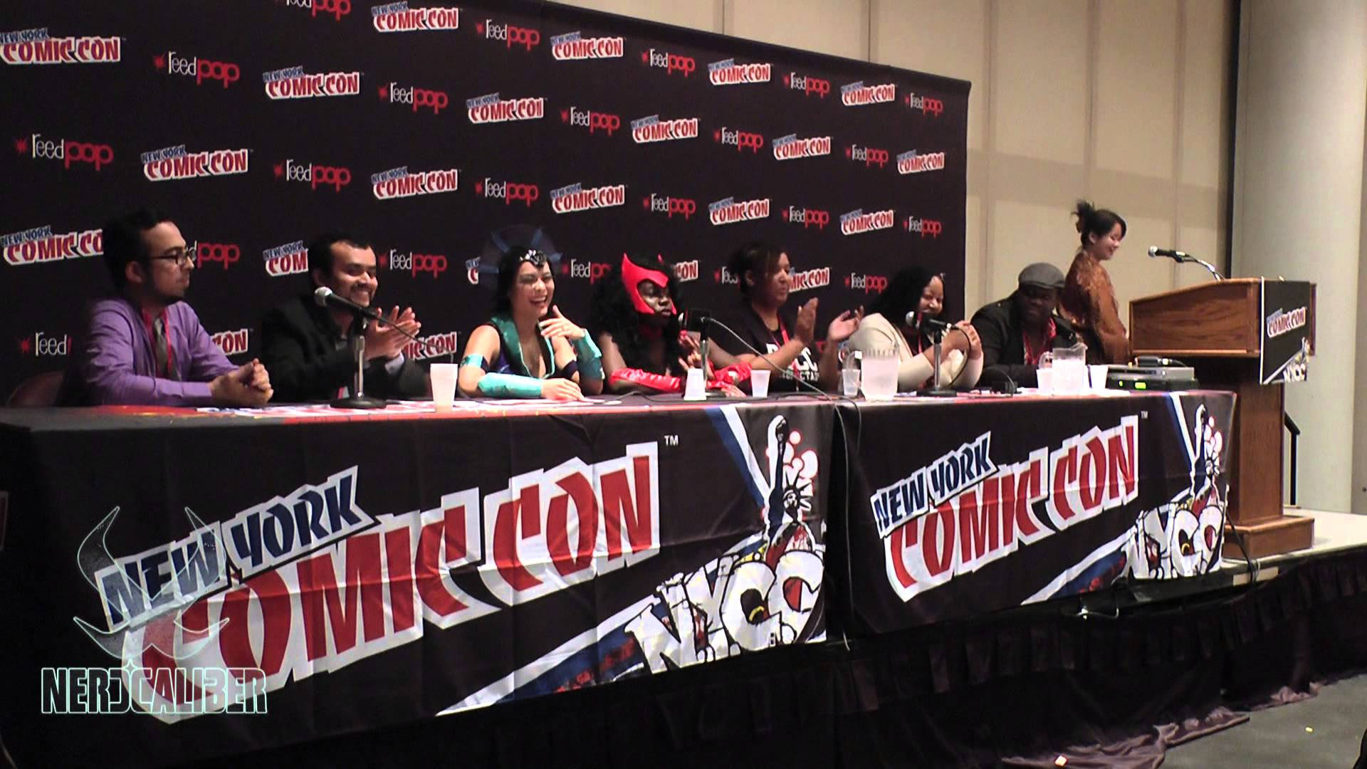 Nerd Calibur New York Comic Con Minorites in Fandom