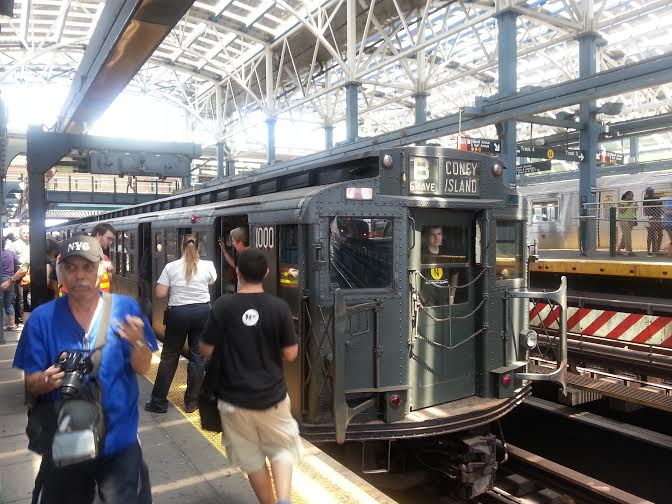 new york transit museum coney island nostalgia ride