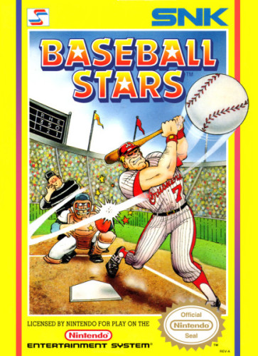Baseball Stars NES Box Art