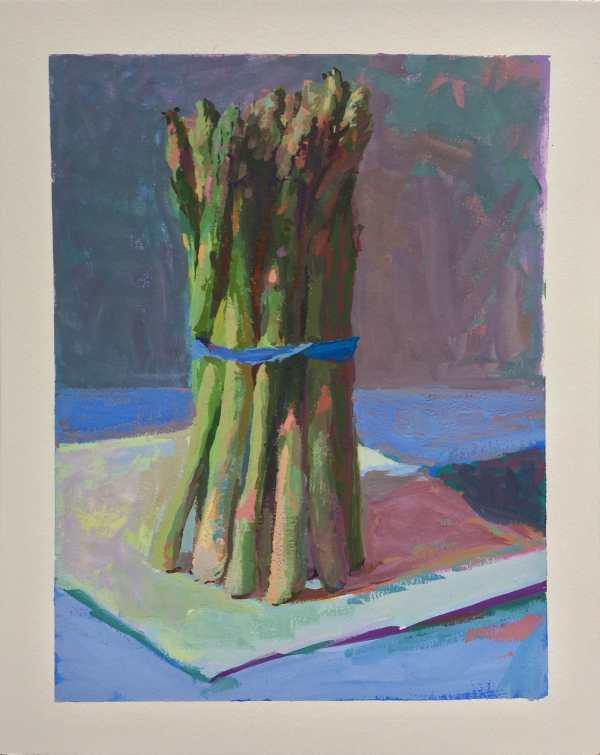 Asparagus | Gouache on illustration board | Jeffrey Smith
