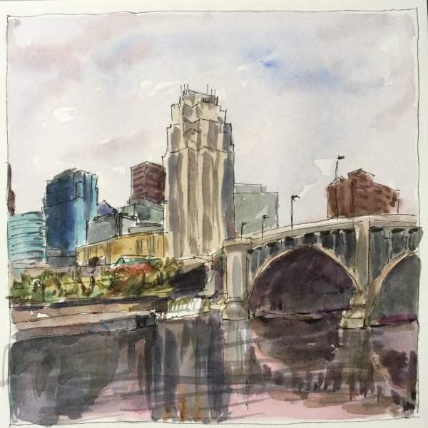 Minneapolis Skyline   Jeffrey Smith