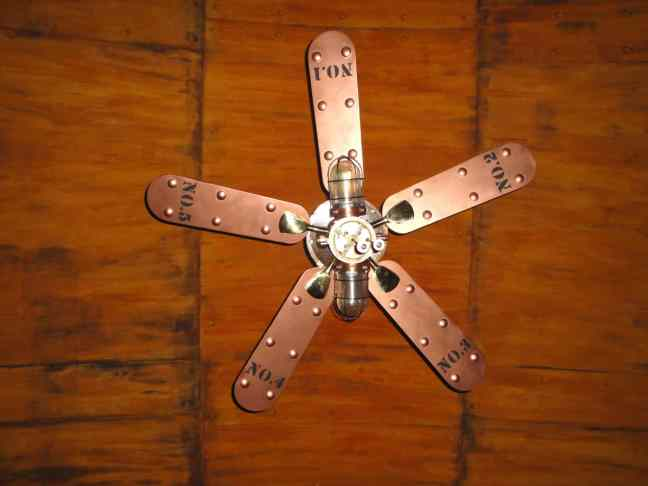 24 Steampunk Ceiling Fan