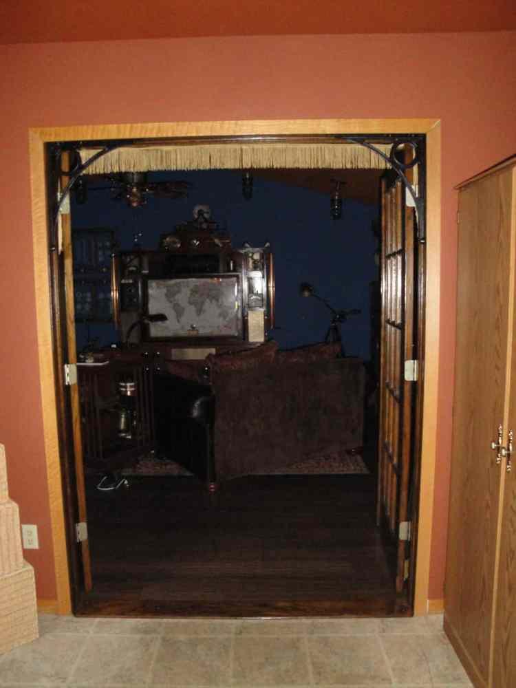 Room Entrance open