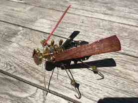 Steampunk Wasp-top view