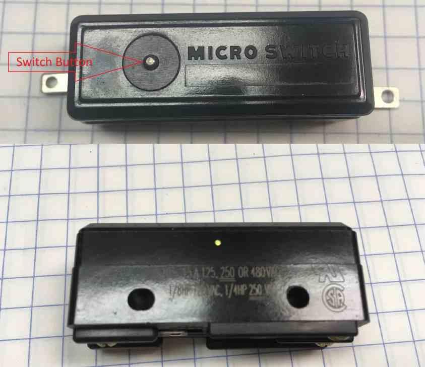 11 125VAC 15A microswitch