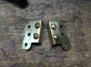 14 brass hinge ready to solder